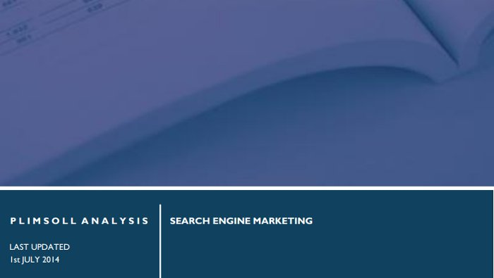 Search Engine Marketing (UK) – Industry Report